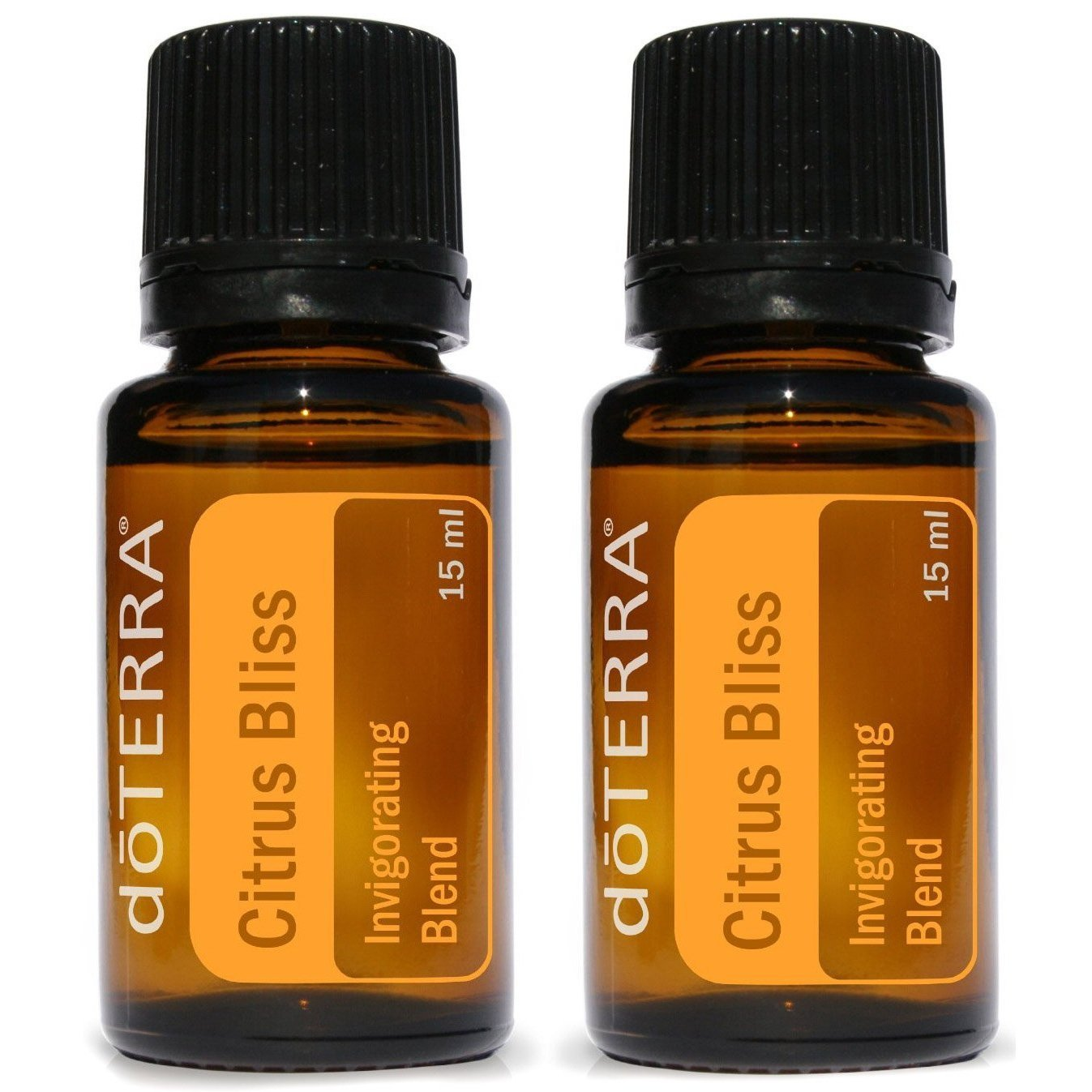 doTERRA Citrus Bliss Essential Oil Invigorating Blend 15 ml (2 pack) by doTERRA
