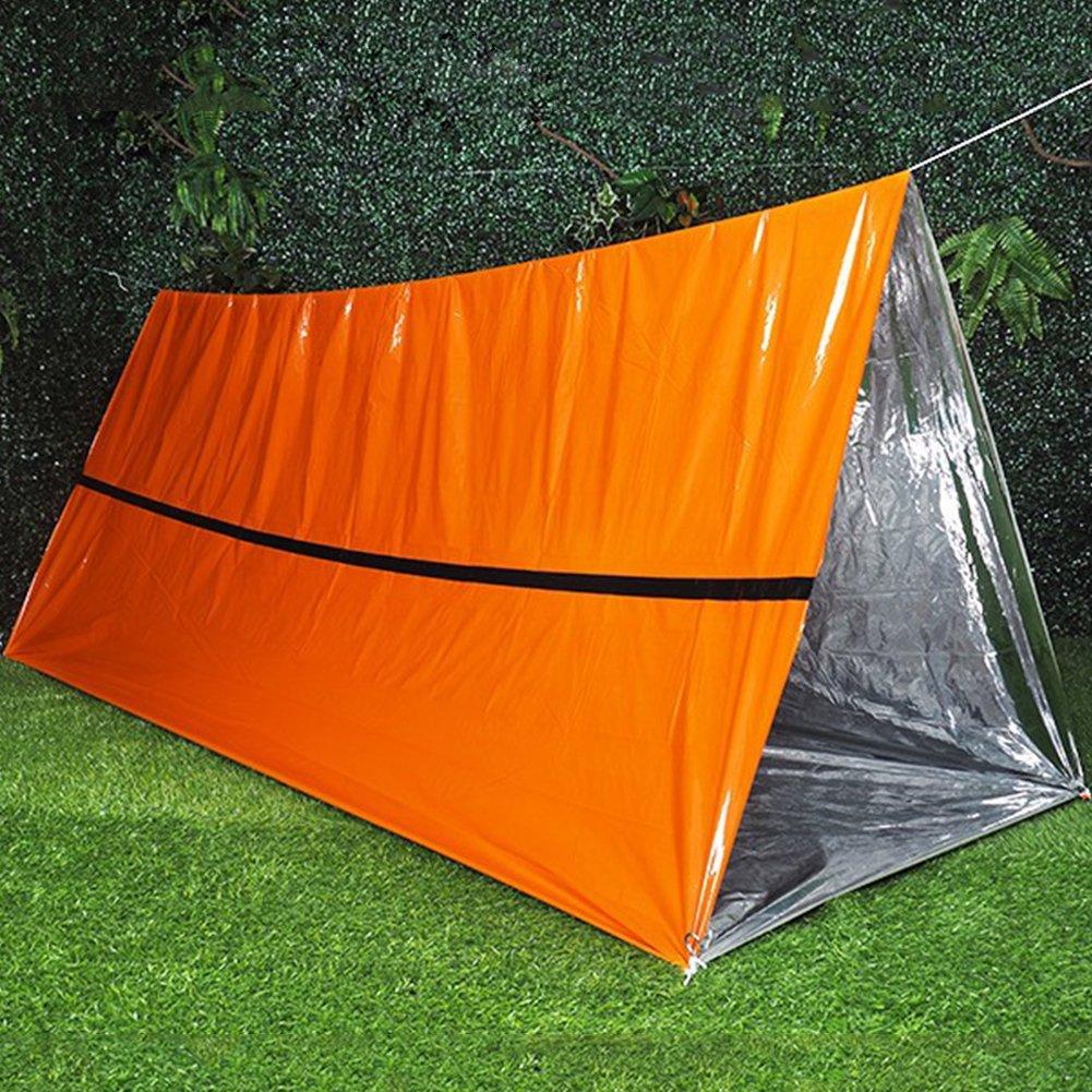 MOOUS 緊急サバイバルブランケット キャンプシェルター テント 寝袋 反射 再利用可能 断熱 ブランケット 保護 Adiabatic Lifesaving Blanket 旅行/アウトドア/ハイキング用  3# B07GZV3TSQ