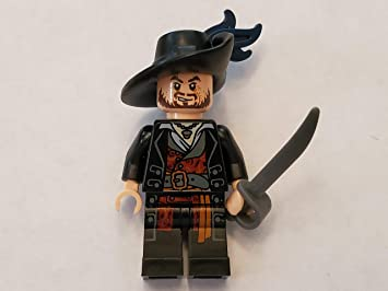 Lego® Pirates of The Caribbean: Hector Barbossa Minifigure