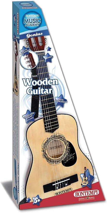 Bontempi - Guitarra 21 7530, Madera: Amazon.es: Juguetes y juegos