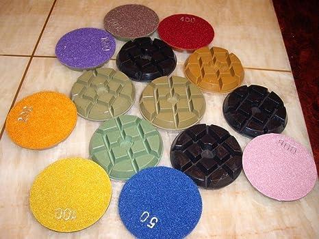4 Inch 11mm Thickness Diamond Floor Renew Polishing Pads