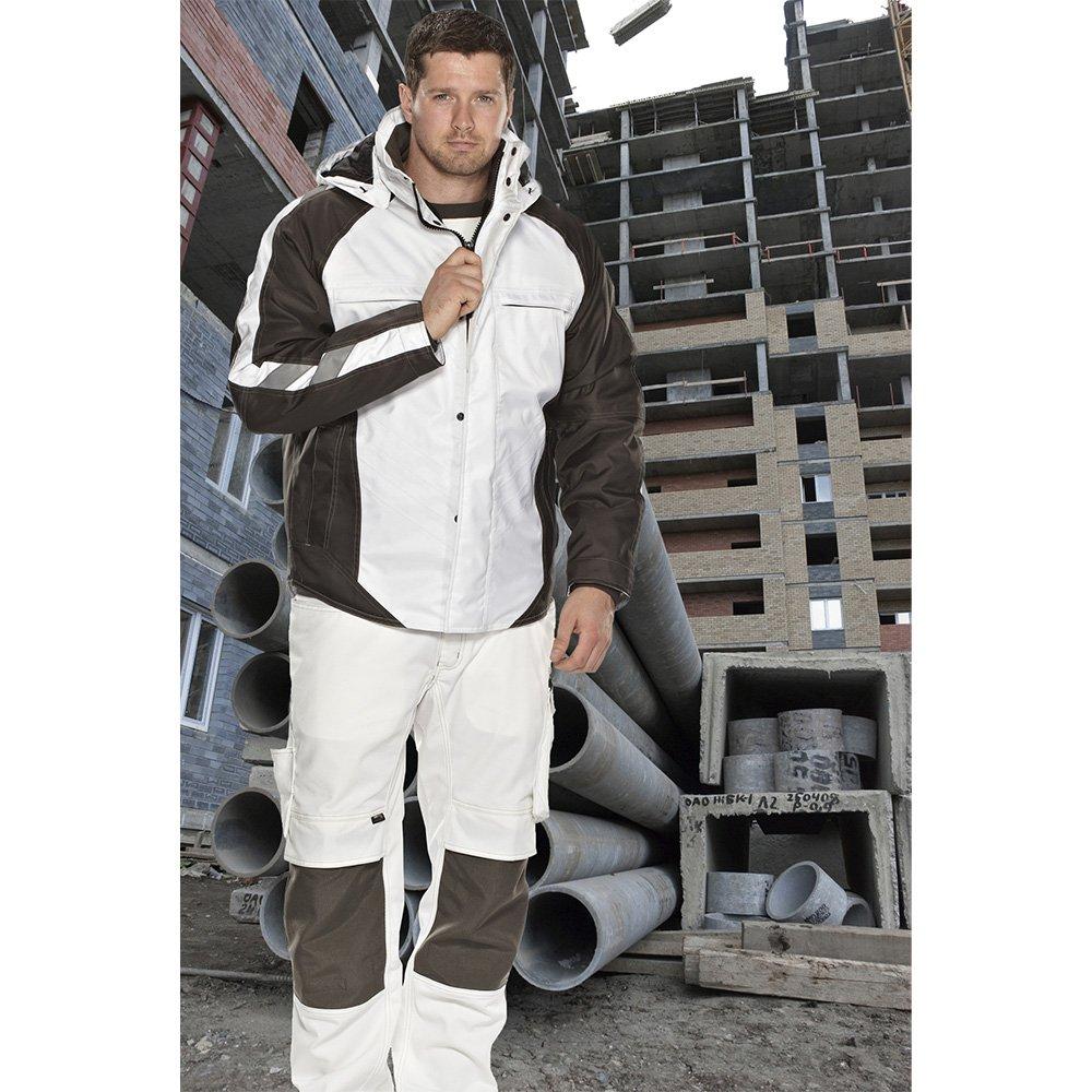 Mascot 12035-211-0618-4XL''Frankfurt'' Pilot Jacket, 4X-Large, White/Dark Anthracite by Mascot (Image #3)