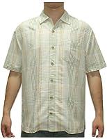 Tommy Bahama Mens Light Weight Silk, Summer Camp Shirt