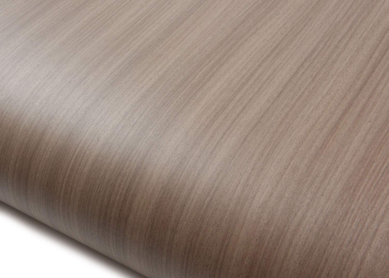 2.00 Feet X 6.56 Feet ROSEROSA Peel and Stick Backsplash Instant Walnut Wood Vinyl Self-Adhesive Covering Countertop Backsplash WD308