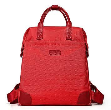 Guofeng Bolsas de Viaje Casual, Mochilas Deportivas, Mochilas Coreanas, Bolsas de Moda para Hombres y Mujeres (Color : Red): Amazon.es: Hogar