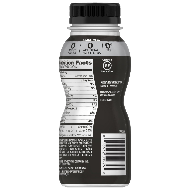 Dannon Oikos Nonfat Greek Yogurt Drink, Strawberry, 7 Ounce ...