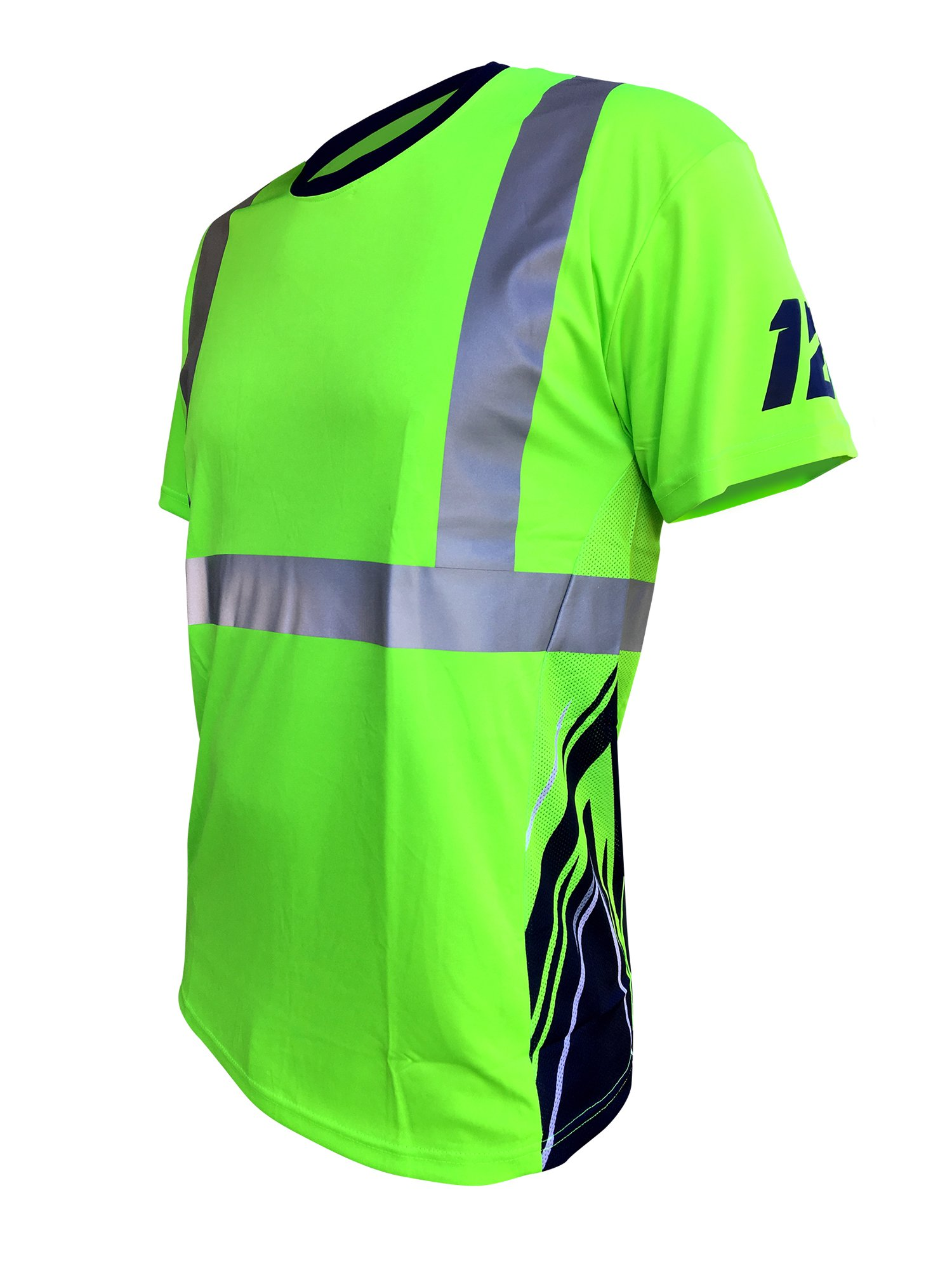 SafetyShirtz SS360 Seattle Twelve Safety Tee ANSI Class 2 L