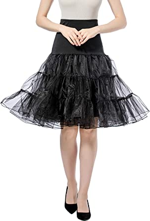 Falda Tul Mujer Tutu Mujer Petticoat Miriñaque Cancan Novia ...