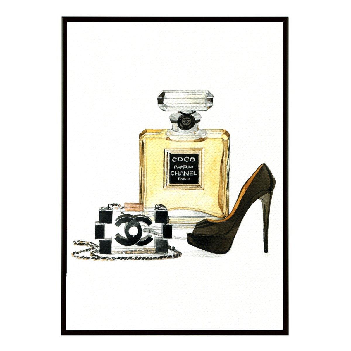 Aroma of Paris アートポスター おしゃれ インテリア 北欧 モノクロ アート #111 A2 ブラックフレーム B079KTVXNWブラックフレーム A2 (420 x 594mm)