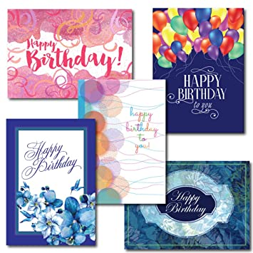 Amazon 6 Design Birthday Greeting Card Assortment A 30 Card