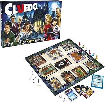 Hasbro Cluedo (en holandés), Multicolor (38712568): Amazon.es: Juguetes y juegos