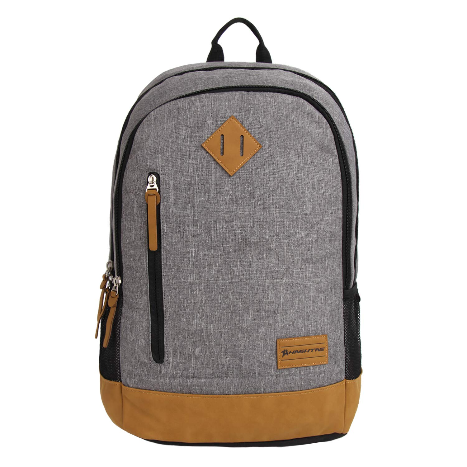 56156d6739 Hashtag Ritzy Polyester Grey Backpack - School Bag   College Bag   Travel  Bag   Backpack: Amazon.in: Bags, Wallets & Luggage