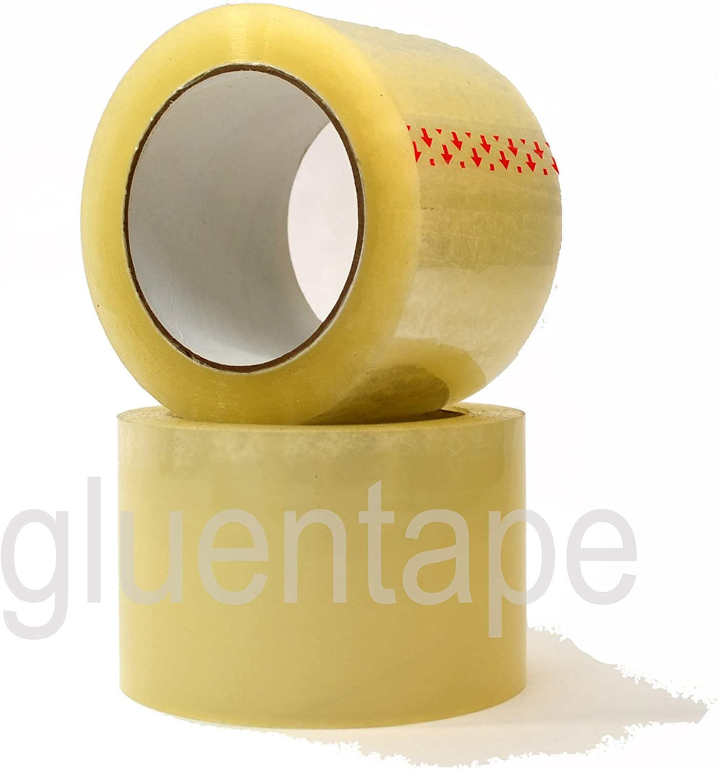 "3/"" x 330/' 110YDS TAN PACKING TAPE SOLD BY THE ROLL FOR SMALL PROJECTS US BASED"