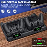 BEBONCOOL PS4 Vertical Stand Cooling Fan for PS4