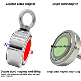 Double Side Round Neodymium Fishing Magnet with