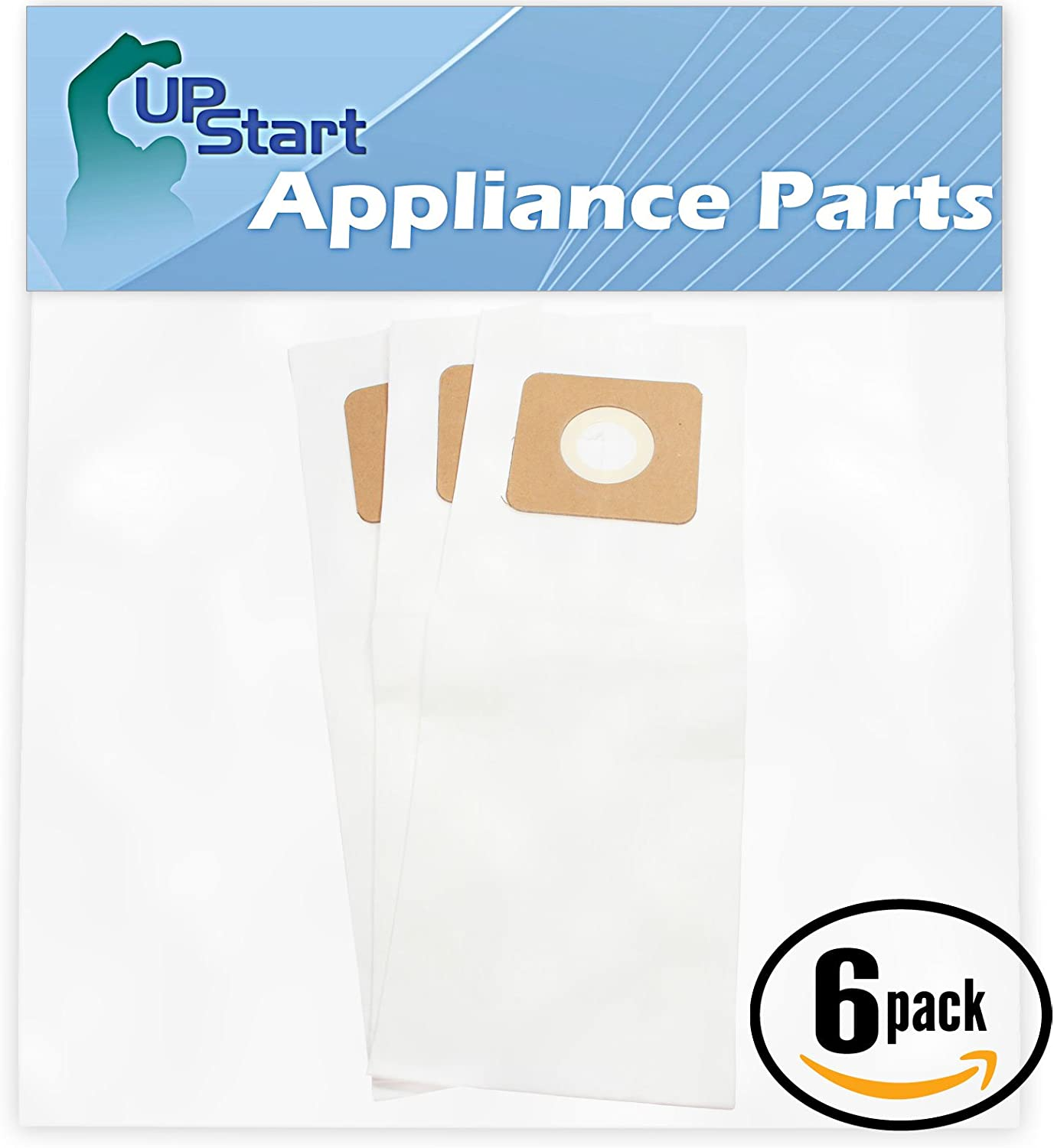 Upstart Battery 18 Replacement for Fuller Brush FBP-14PW Vacuum Bags - Compatible with Fuller Brush Type U, U-3, U-6 Vacuum Bags (6-Pack, 3 Bags per Pack)