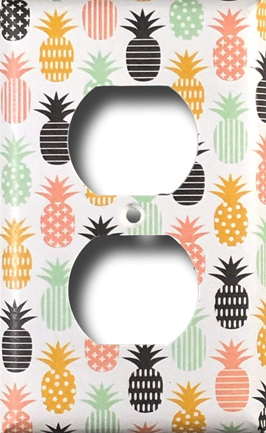 Pineapple Decorative Outlet Wall Plate Cover Standard//Midway or Jumbo Size