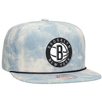 competitive price 7271e d9de3 Brooklyn Nets Acid Wash Denim Snapback Hat