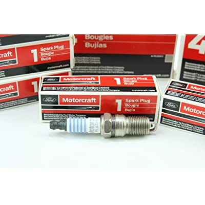 Pack of 8 Genuine Motorcraft Spark Plug SP-493 AGSF32PM: Automotive