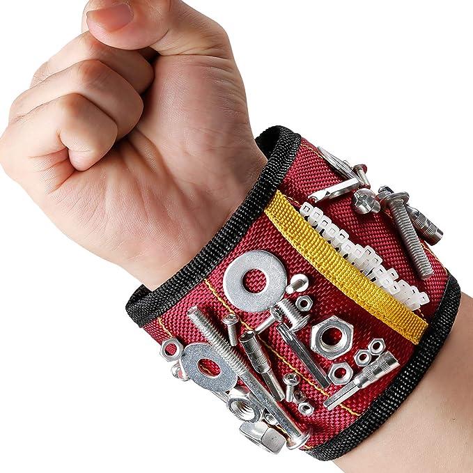35 opinioni per MYCARBON Wristband Magnetico Fascia da Polso Magnetica Fai da te 10 Magneti