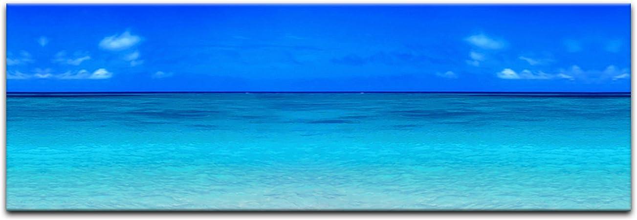 Bilderdepot24 Cuadros en Lienzo Playa de Arena 160 x 50 cm - Listo ...