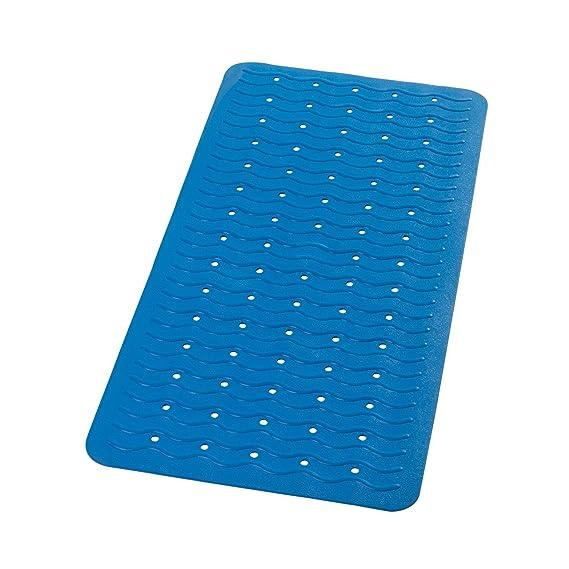 Sicherheitseinlage für Badewannen Wanneneinlage blau 36 x 93 cm
