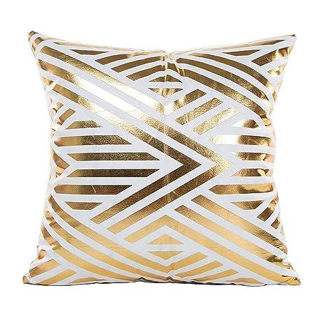 Amazon.com: wintefei - Funda de cojín decorativa, diseño de ...