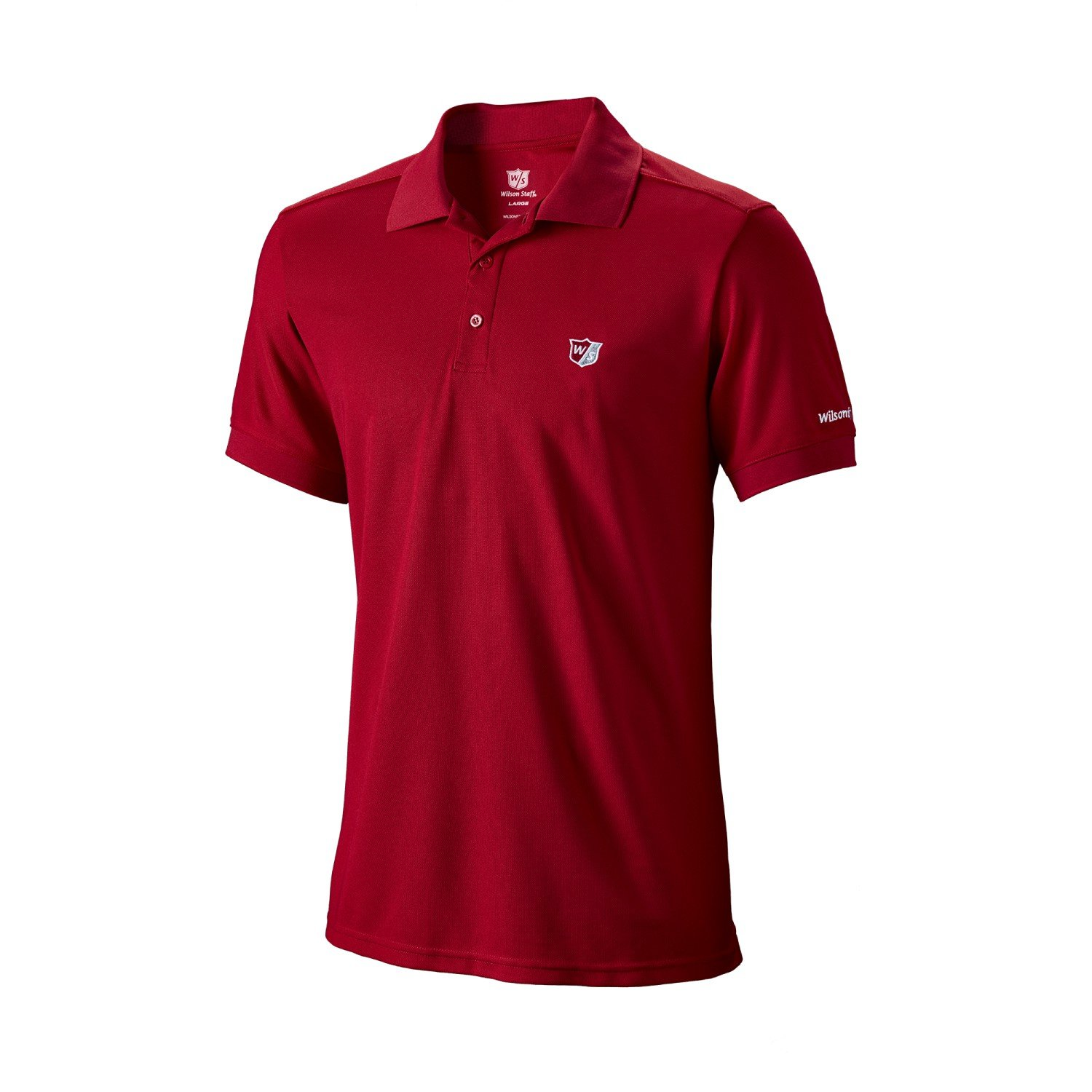 Wilson Polo Mens Authentic Polo S Rouge tgLBd