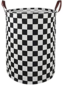 MZIMIK Large Waterproof Storage Bin Lightweight Organizer Basket for Laundry Hamper,Toy Bins,Gift Baskets,Dirty Clothes, College Dorms, Kids Bedroom,Bathroom(Race car)