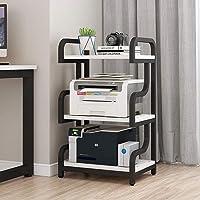 Print Racks Steel Frame Printer Stand, Multipurpose Storage Shelf for Home, Office, Printer Printer Shelf Near Desk with…