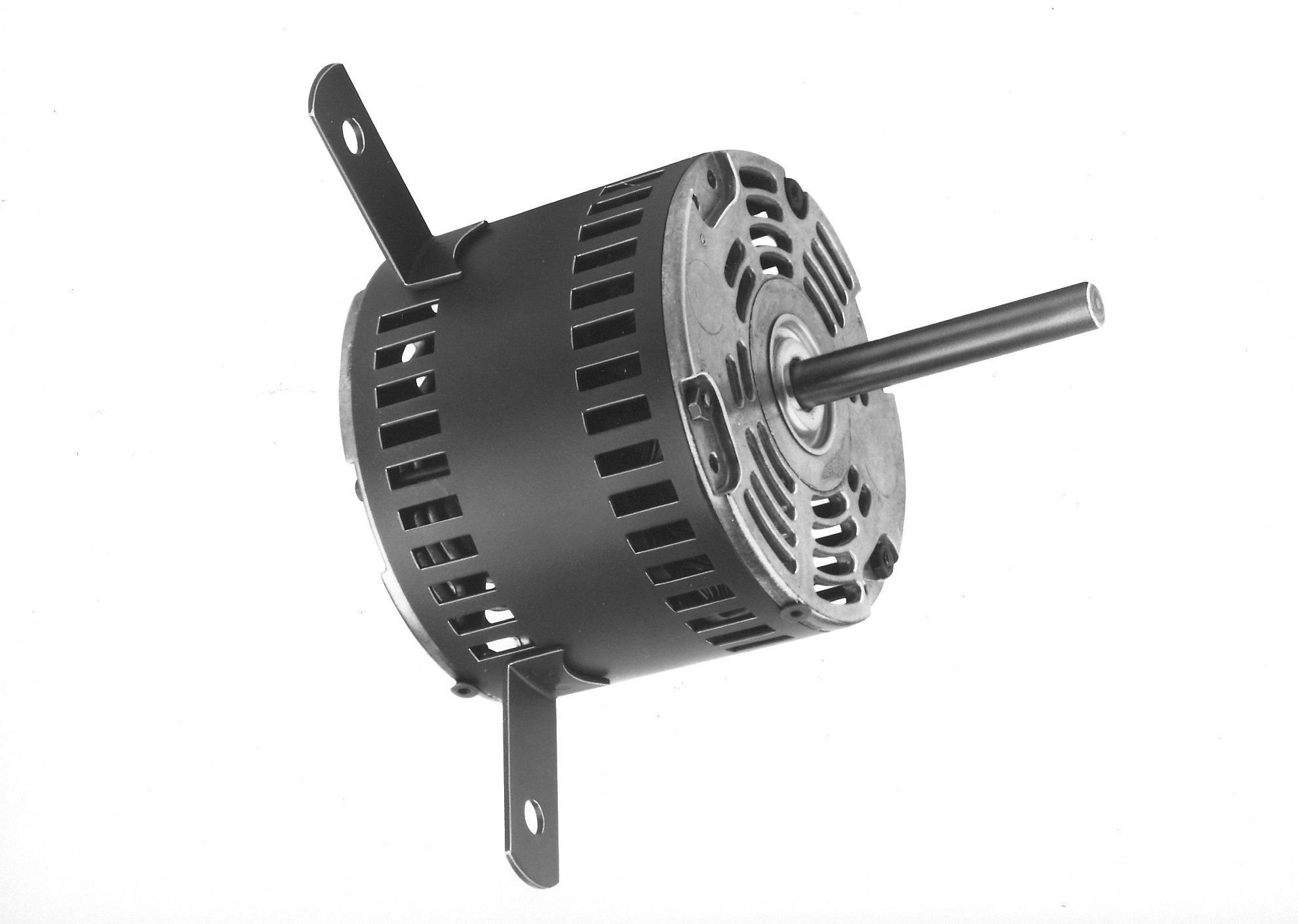 Fasco D1082 5'' Frame Shaded Pole Miller Open Ventilated OEM Replacement Motor with Ball Bearing, 1/8HP, 1070rpm, 115V, 60 Hz, 6.0amps