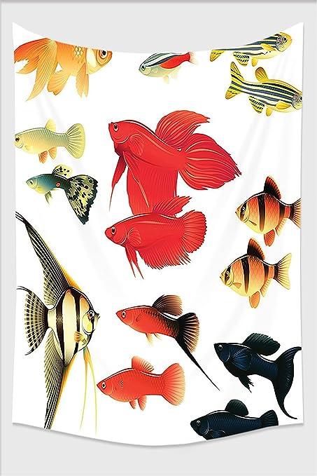 Amazon Com Nalahome Ocean Animal Decor Exotic And Tropical Types