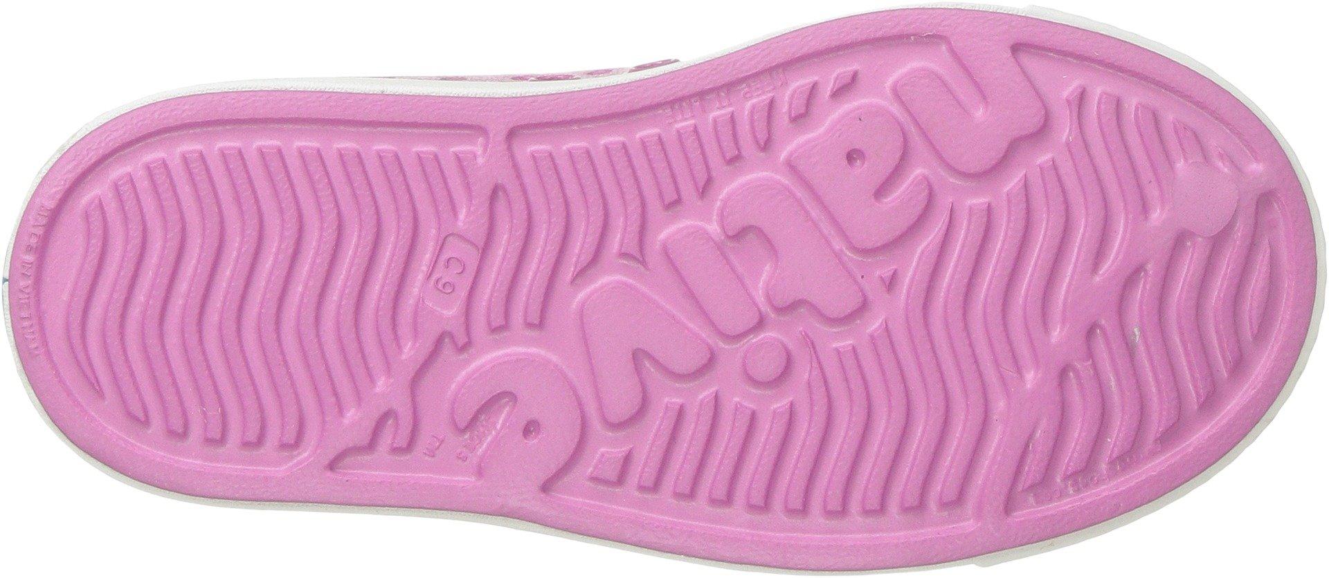 Malibu Pink//Shell White//Galaxy Iridescent 7 Medium US Toddler native Kids Jefferson Iridescent Child Shoe