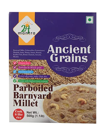 24 Organic Mantra Products Barnyard Millet, 500g