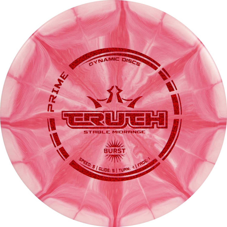 Dynamic Discs Prime Burst Truth Disc Golf Midrange | Stable Frisbee Golf Midrange | 173-176g | Versatile Golf Disc | Stamp Colors Will Vary