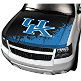 NCAA Kentucky Auto Hood Cover, One Size, One Color