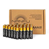 Deals on 48CT NANFU High Performance AAA Alkaline Batteries
