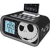 Nightmare Before Christmas Jack Skellington Dual Alarm Clock Speaker System, DJ-M23
