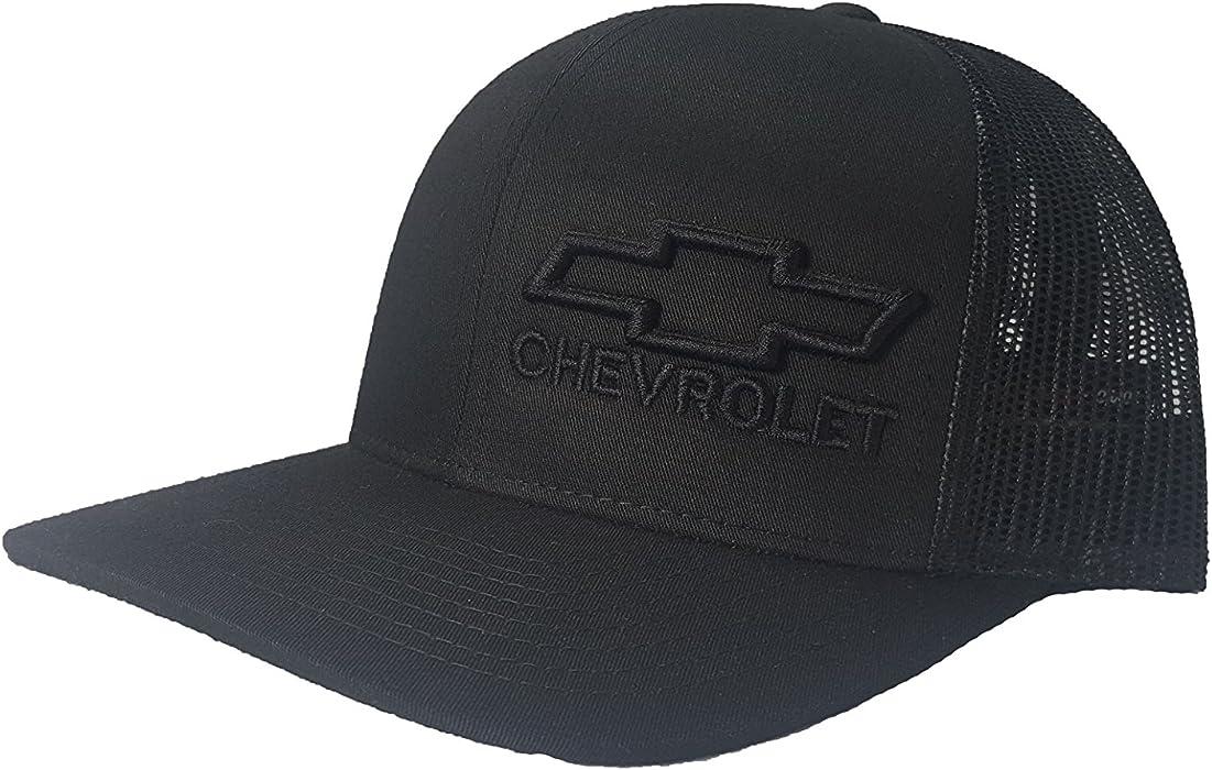 82c56ea77ef Richardson 3D Puff Chevy Chevrolet Logo Hat Cap Snapback Adjustable Unisex