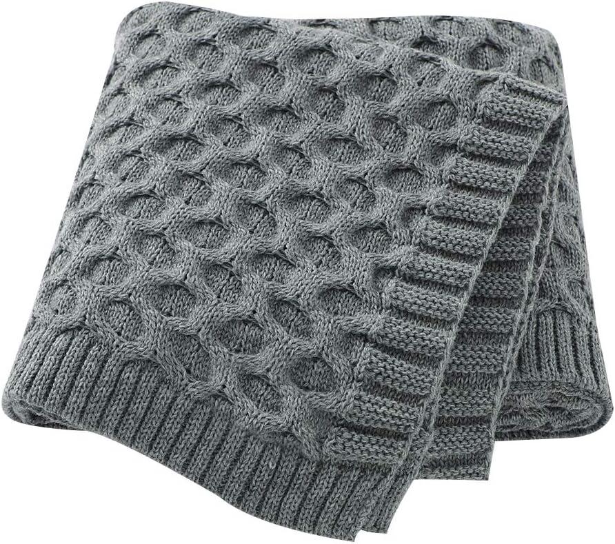 Baby Blankets for Boys Girls Super Soft Warm Knit Newborn Kids Quilts 30