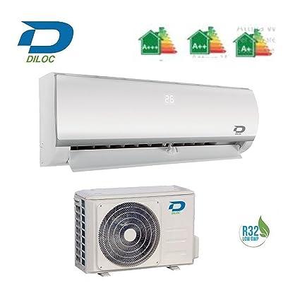 DILOC Frozen Aire Acondicionado 24000 BTU R32 – Climatizador Inverter de pared – D. frozen24