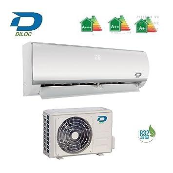 DILOC Frozen Aire Acondicionado 24000 BTU R32 - Climatizador ...