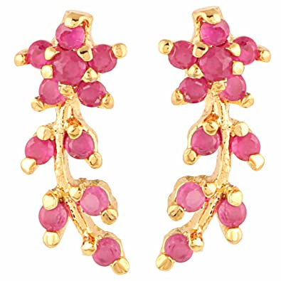 Buy Archi Collection Traditional Ethnic Gold Plated Jewellery Ruby