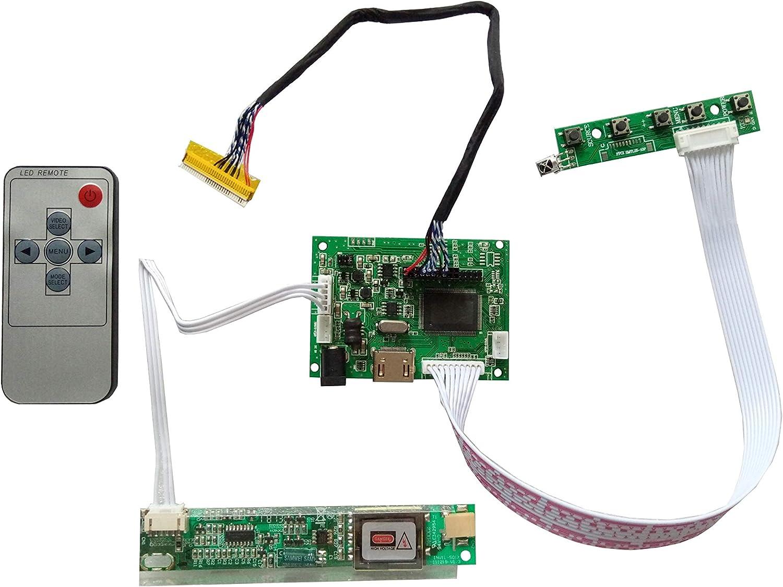 LCD Controller Board lvds Kit For LTN154X1-L01  HDMI DVI VGA Audio