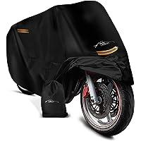 AS-Design Universele motorhoes met slotgaten, motorfiets-accessoires, 245 x 105 x 125 cm, waterdicht (190T), afdekhoes…
