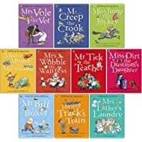 Happy Families Stories Series 10 Books Collection Set by Allan Ahlberg (Mr Biff the Boxer, Master Track's Train, Miss…