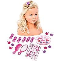 Bayer Design - Busto muñeca peinar y maquillar con assessorios