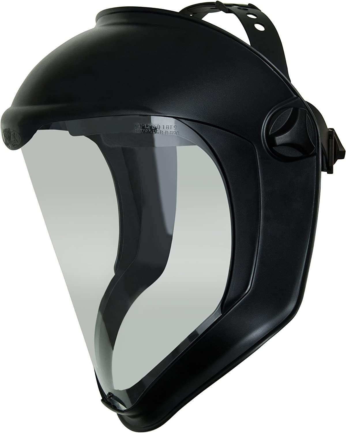 Clear//Black Uvex by Honeywell S8505 Bionic Face Shield with Hard Hat Adapter