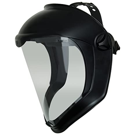 dd6a46f6f4 Uvex Bionic Face Shield with Clear Polycarbonate Visor and Anti-Fog ...