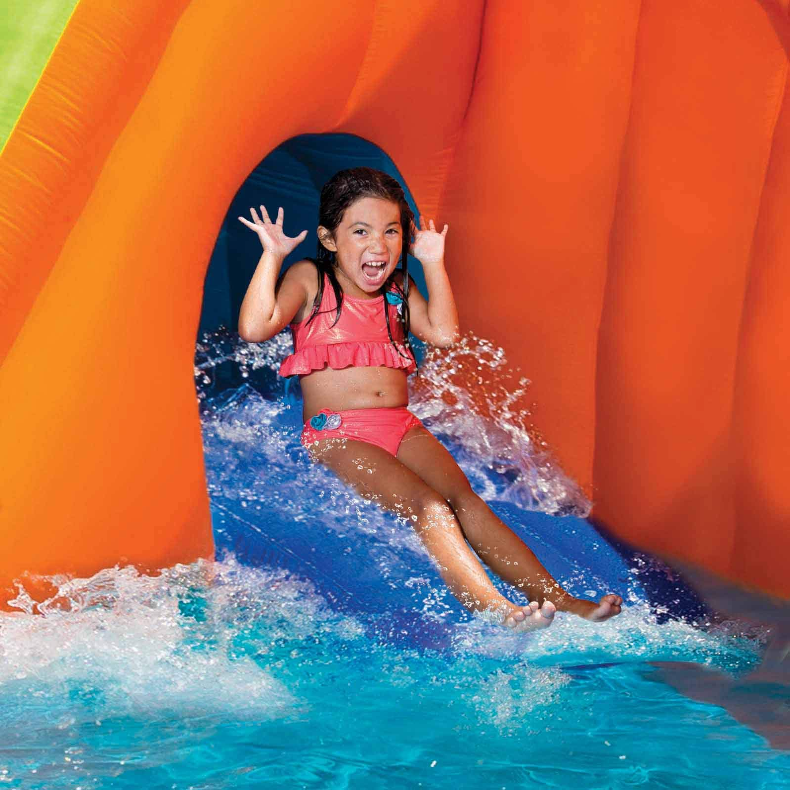 BANZAI 90494 Sidewinder Falls Inflatable Water Slide with Tunnel Ramp Slide by BANZAI (Image #3)